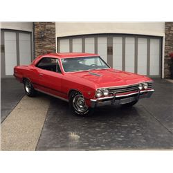 NO RESERVE 1967 CHEVROLET MALIBU SS SUPER SPORT 4 SPEED