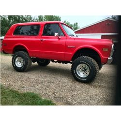 1972 CHEVROLET BLAZER FRAME OFF RESTORATION