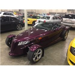 1999 PLYMOUTH PROWLER ONLY 18000 MILES