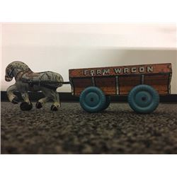 VINTAGE FARM WAGON TOY