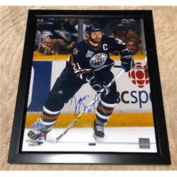 JASON SMITH AUTOGRAPHED FRAMED EDMONTON OILERS 2006 PLAYOFF RUN PHOTO