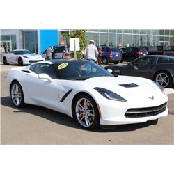 FRIDAY NIGHT! 2015 CHEVROLET CORVETTE