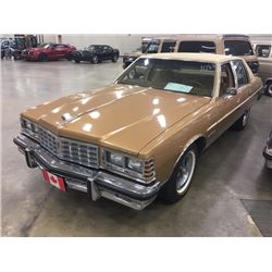 1977 PONTIAC PARISIENNE BROUGHAM NICEST ONE ON THE PLANET EXCLUSIVELY FROM THE REDFERN COLLECTION