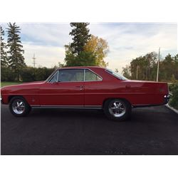 1966 CHEVROLET NOVA SS SUPER SPORT GM DOCUMENTED