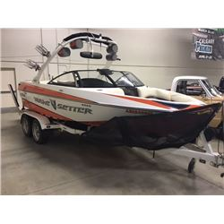 FRIDAY NIGHT 2009 MALIBU VTX WAKE SETTER WAKE BOAT ONLY 280 HRS