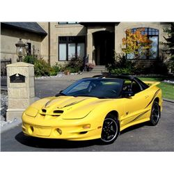 2002 PONTIAC TRANS AM CONVERTIBLE WS6 ONLY 6700KM
