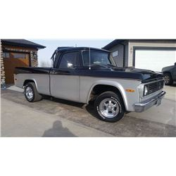 1970 DODGE D100 REGULAR CAB SHORTBOX