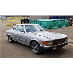 NO RESERVE!! 1974 MERCEDES 450SLC