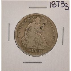 1873-S Seated Liberty Half Dollar Coin