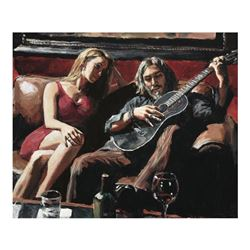 Self Portrait with Girl and Guitar by Perez, Fabian