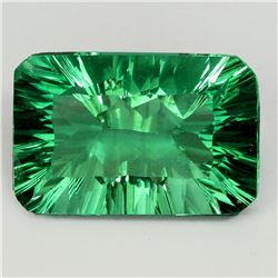 Natural AAA Emerald Green Fluorite 14.05 Ct - VVS