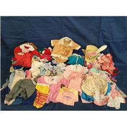 Lot of 75 plus Doll Clothes