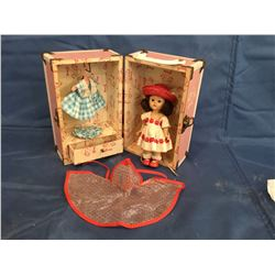 """Vogue """" Ginny """" Doll with Wardrobe Carry Case"""