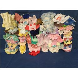 Large Lot of Doll Clothes