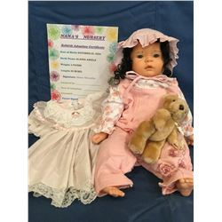 "Reborn ""Alanna Angela"" from ""Nana's Nursery"" ***This is not a Toy****"