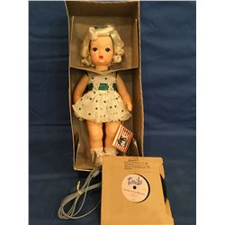 1950's Talking Terri Lee Doll Mint but box not