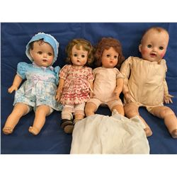 Lot of 4 Different type dolls