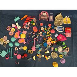 Large lot of Barbie Accessories