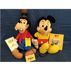 Worlds of Wonder Talking Mickey Mouse and Goofy