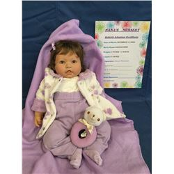 """Reborn """"Hannah Rose"""" from """"Nana's Nursery"""" ***This is not a Toy****"""