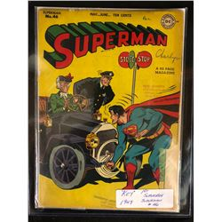 "1947 ""KEY"" 1ST SUPERBOY/ SUPERMAN #46 (DC COMICS)"