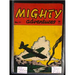 1949 MIGHTY ADVENTURES #11 (SUPERIOR PUBLISHING) **CANADIAN WHITE**
