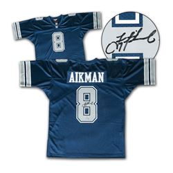 Troy Aikman Dallas Cowboys Autographed Mitchell & Ness Jersey - Steiner COA
