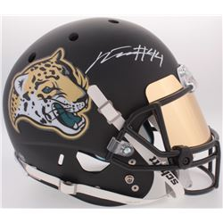 Myles Jack Signed Jaguars Custom Matte Black Full-Size Helmet With Mirrored Visor (PROVA COA)
