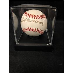 TED WILLIAMS SIGNED RAWLINGS BASEBALL W/ JSA LOA