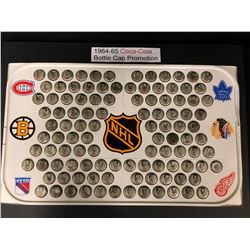 1964-65 COCA-COLA BOTTLE CAP PROMOTION SET (NHL)