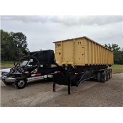 30 ROLL OFF TRAILER