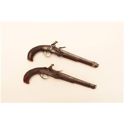 18LP-9 PAIR OF FLINTLOCKS