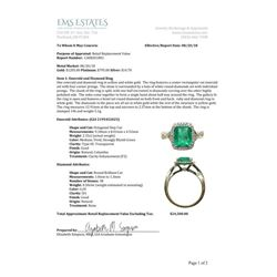 18CAI-6 COLOMBIAN EMERALD RING
