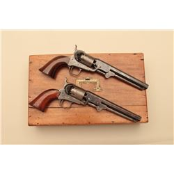 18KF-14 PAIR OF 1851 NAVY LONDON COLTS IN OAK CASE