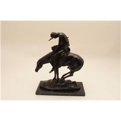 18KT-4 'END OF THE TRAIL' BRONZE