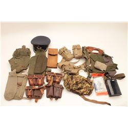 18KN-3 LOT OF MILITARY GEAR