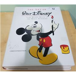THE ART OF WALT DISNEY LARGE HARD COVER BOOK