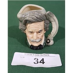 ROYAL DOULTON MARK TWAIN CHARACTER MUG