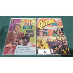 10 CENT CHEYENNE KID & 15 CENT THE WILD WILD WEST COMICS