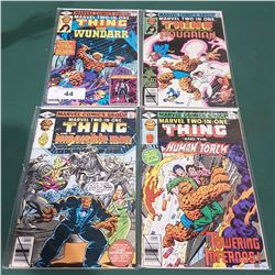 FOUR 40 CENT THE THING COMICS
