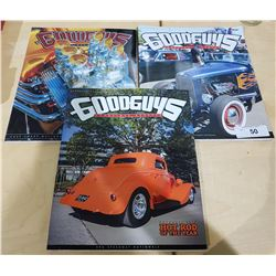 3 GOOD GUYS COLLECTILBE HOT ROD CAR MAGAZINES