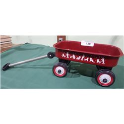 MINIATURE KIDS TOY WAGON