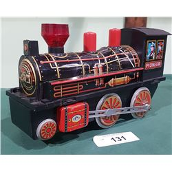 PIONEER TIN LOCOMOTIVE TOY