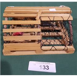 WOOD LOBSTER TRAP MINIATURE