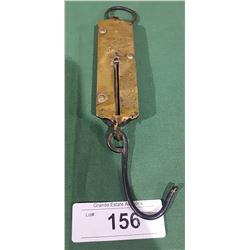 VINTAGE BRASS HOOK SCALE