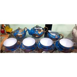11 PC HAND PAINTED IMPERIAL NIPPON TEASET