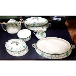 "6 PCS ROYAL DOULTON ""COUNTESS"" CHINA"