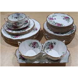 "31 PCS ROYAL ALBERT ""EVENING RHAPSODY"" CHINA"