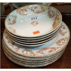 11 PCS NORITAKE CHINA