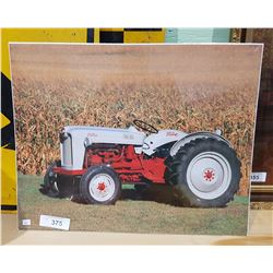 PRINT OF VINTAGE FORD TRACTOR